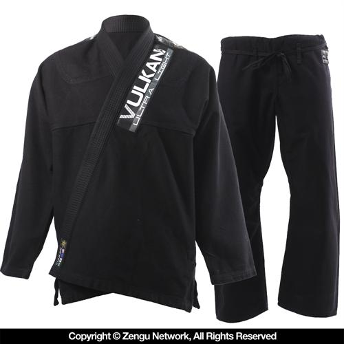 Vulkan Vulkan Ultra Light Black BJJ Gi